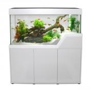 Aquarium et meuble Caraïbes 220 L - Noir ou Blanc