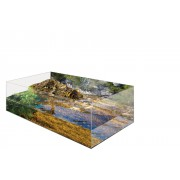Kit Vivarium tortue aquatique Exo Terra 60x35x23 cm