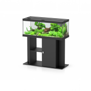 Ensemble aquarium + meuble Style LED 100 - 160 L - Noir