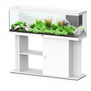 Ensemble aquarium + meuble Style LED 120 - 216 L - Blanc