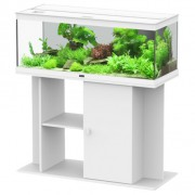 Ensemble aquarium + meuble Style LED 100 - 160 L - Blanc