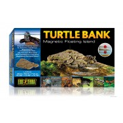 "Plage mobile pour tortue d'eau ""turtle bank Exo Terra"", large"