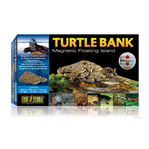 """Plage mobile pour tortue d'eau """"turtle bank Exo Terra"""", large"""