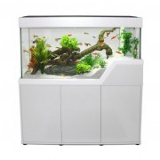 Meuble pour aquarium Caraïbes 102 cm - Blanc