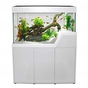 Aquarium et meuble Caraïbes - 102cm - 220 L - Blanc