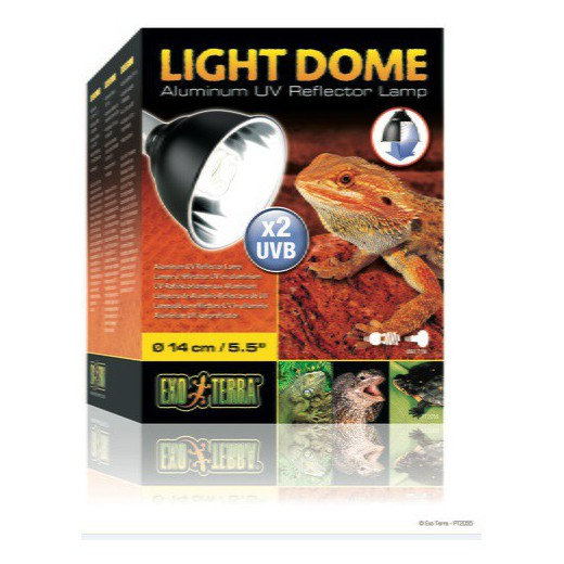 Support de lampe 14cm Light Dome Exo Terra