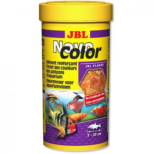 Aliment renforçant l'éclat des couleurs des poissons NovoColor - 250ml