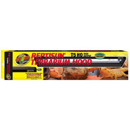 Rampe d'éclairage Reptisun terrarium hood T5 350mm 15w