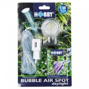 Diffuseur d''air à led Bubble air spot Hobby - Blanche