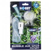 Diffuseur d''air à led Bubble air spot Hobby - Blanche