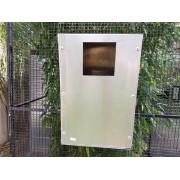 Nid en aluminium 30x30x45 avec trappe de visite