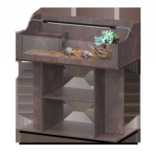 Offre kit Terrarium + Meuble terra tortum 120 oxyde