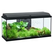 Aquarium Led, Noir 80x30x45 cm