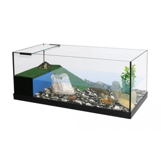 Vivarium sur mesure CAPAC 150x80x50 avec terrase filtrante équipée