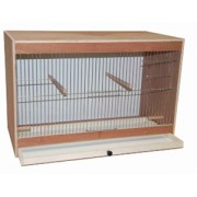 Cage d'élevage en bois 60 cm
