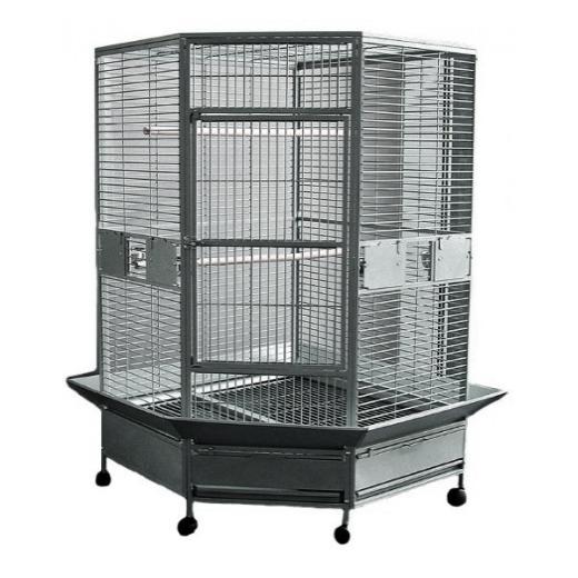 Cage d'angle 107X107X184 cm