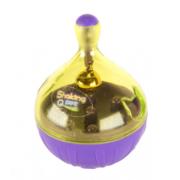 Jouet toupie 6 cm avec clochette distributeur de friandise