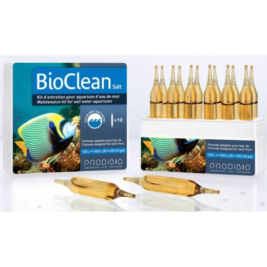 BioClean Salt - Kit entretien eau de mer - 12 ampoules