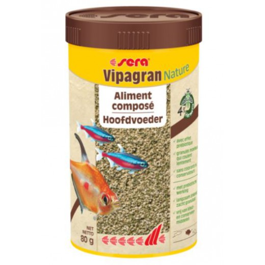 "Aliments pour poissons d'ornement ""Vipagran"" - 250ml"