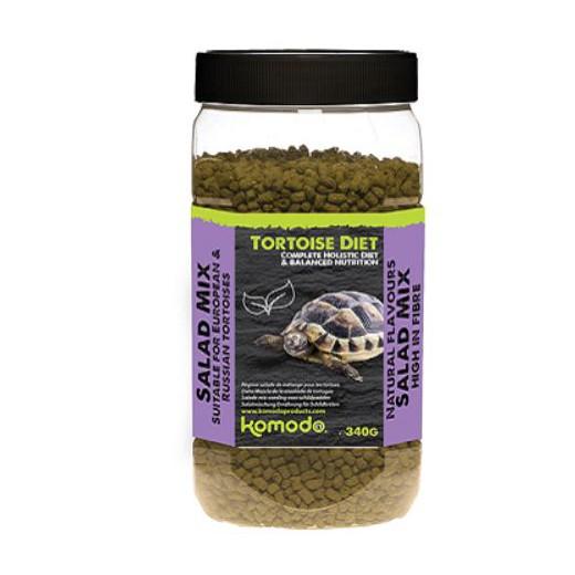 Komodo tortoise diet, goût salade mix 340g