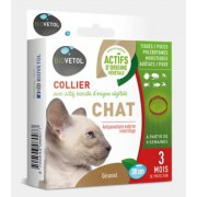 Collier Insectifuge Chat x1 - 38cm