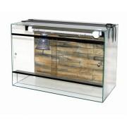 Terrarium en verre   80x40x50