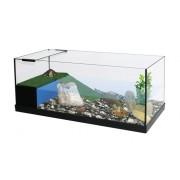 Vivarium Capac 80x35x30 avec terrasse filtrante équipée