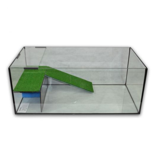 Vivarium Capac 100x50x40 avec terrasse filtrante équipée