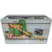 Kit Terrarium Verre 100 pour tortue jusqu'à 20cm