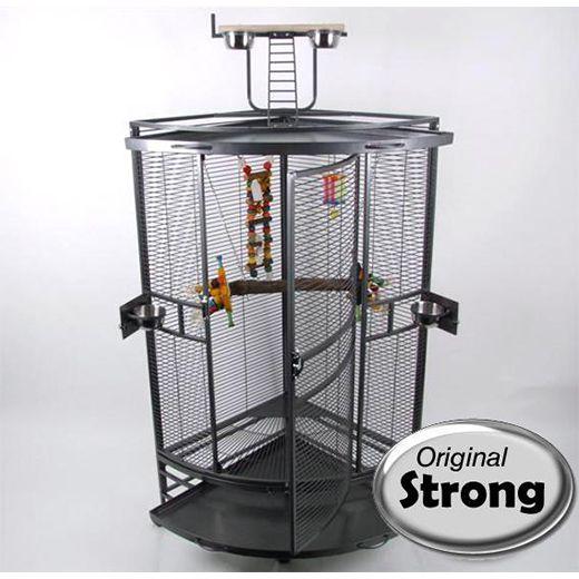 Cage d'angle perroquet Nadia XL