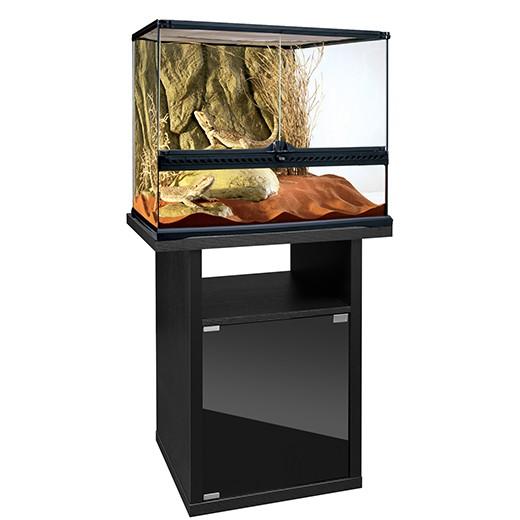 Offre kit terrarium 60x45x45cm meuble cabinet exo terra - Terrarium meuble ...