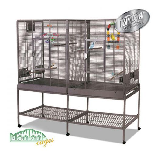 Cage Madeira double Anthracite