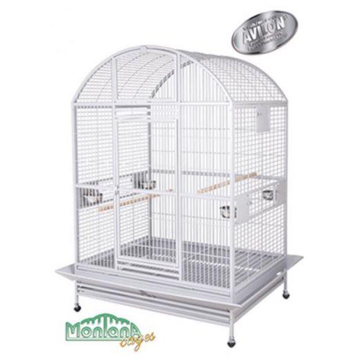Cage Grande castell Platinium (gris clair)