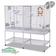 Cage Madeira double Platinum (gris clair)