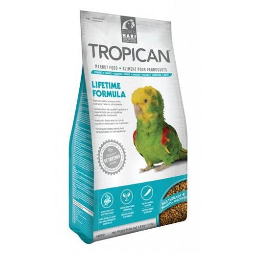 Granulés Perroquets - Tropican Lifetime Formula - 1,8 kg