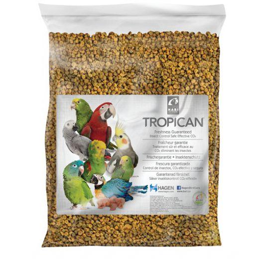Aliment granulés extrudés Tropican granulés perroquet 3,6 kg