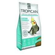 Aliment granulés extrudés Tropican grandes perruches 820 gr.