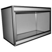 Terrariums PVC/ALU Blanc 120x60x75, 10 mm
