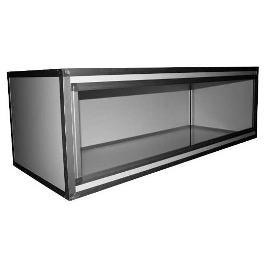 Terrariums PVC/ALU Blanc 150x60x50, 10mm