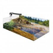 Kit Vivarium complet pour tortue aquatique 79x39x27cm
