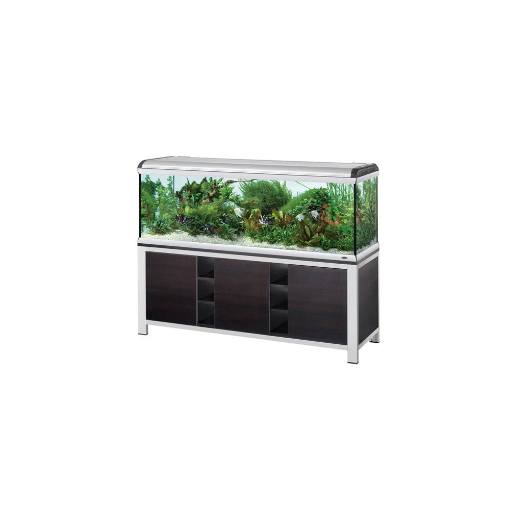 Meuble avec portes pour aquarium star 200 202 x 62 x 80 5 cm for Aquarium avec meuble