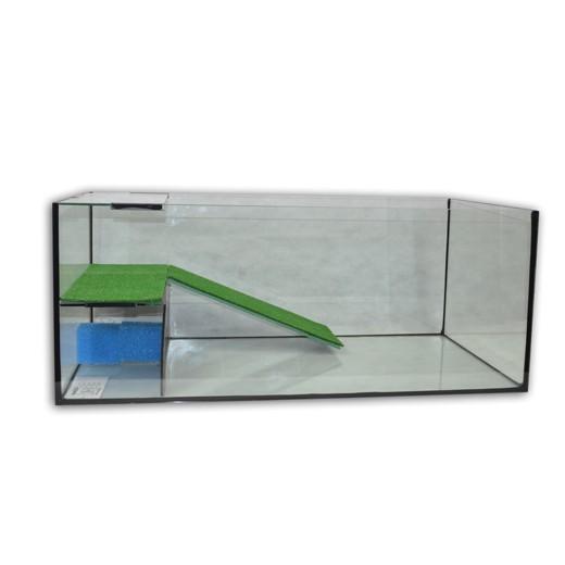 Aquarium Capac avec terrasse filtrante équipée 140x70x50 + meuble