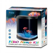Kit aquarium Fluo nemo noir 14 litres - Superfish