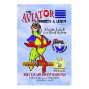 Harnais Aviator Large. Disponible en rouge ou noir