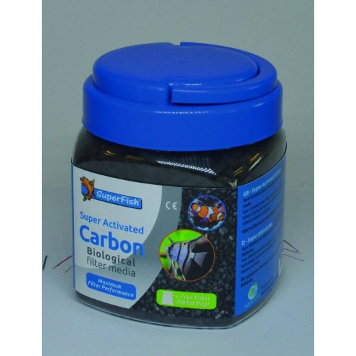 Charbon super actif Superfish 1000 ml