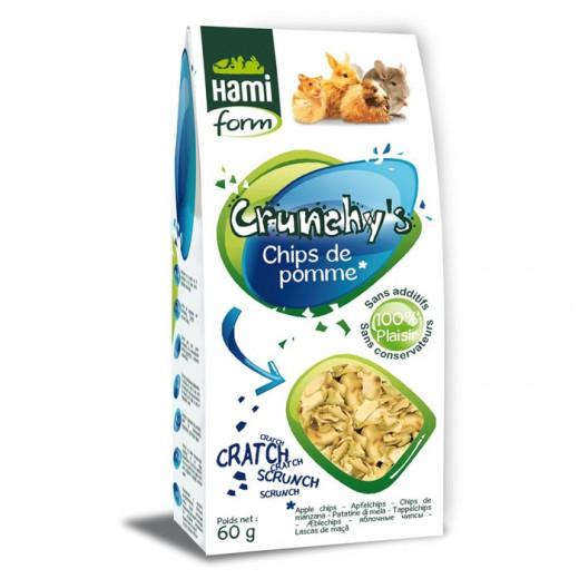 Crunchy's Chips de pommes 60g pour tous rongeurs