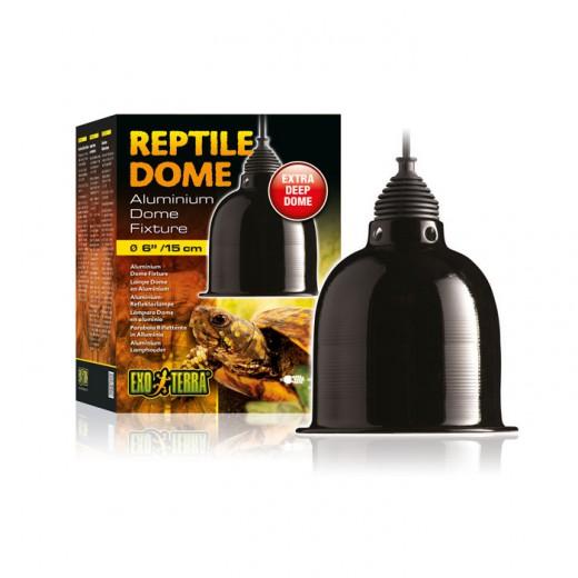 Support reptile dôme lampe 15cm