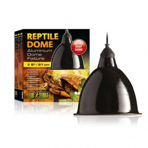 Support reptile dôme lampe 21cm