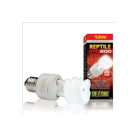 Reptile UVB 200 fluo compacte 13W