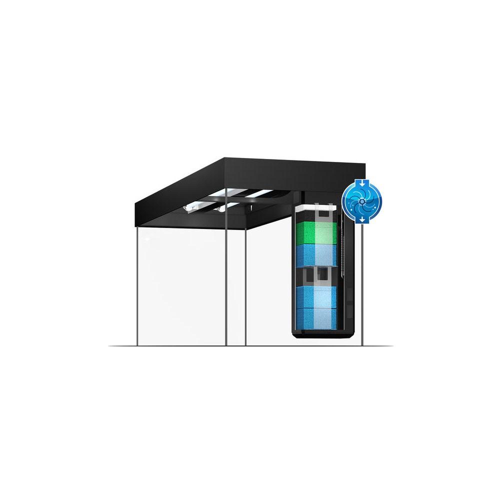 Offre aquarium et meuble juwel rio 240l led blanc 121x41x55cm for Aquarium et meuble
